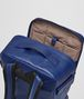 BOTTEGA VENETA COBALT BLUE CALF GRID BRICK BACKPACK Messenger Bag Man dp