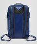 BOTTEGA VENETA COBALT BLUE CALF GRID BRICK BACKPACK Messenger Bag Man ep