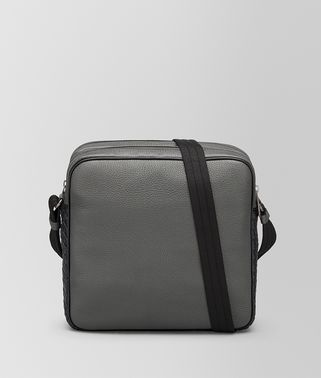 LIGHT GREY CERVO MESSENGER BAG