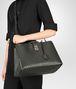 BOTTEGA VENETA DARK MOSS INTRECCIATO NAPPA MILANO '17 BAG Tote Bag Woman lp