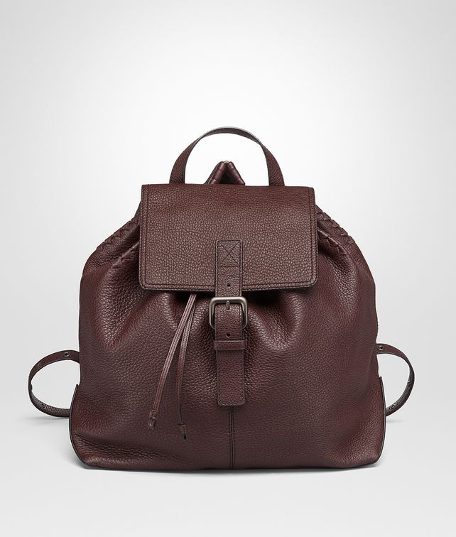 BOTTEGA VENETA DARK BAROLO CERVO BACKPACK Messenger Bag [*** pickupInStoreShippingNotGuaranteed_info ***] fp