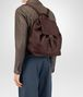 BOTTEGA VENETA DARK BAROLO CERVO BACKPACK Messenger Bag Man ap