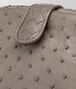 BOTTEGA VENETA CLUTCH THE LAUREN 1980 IN STRUZZO STEEL Pochette Donna ep