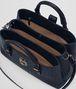 BOTTEGA VENETA PRUSSE INTRECCIATO CALF SMALL ROMA BAG Top Handle Bag Woman dp