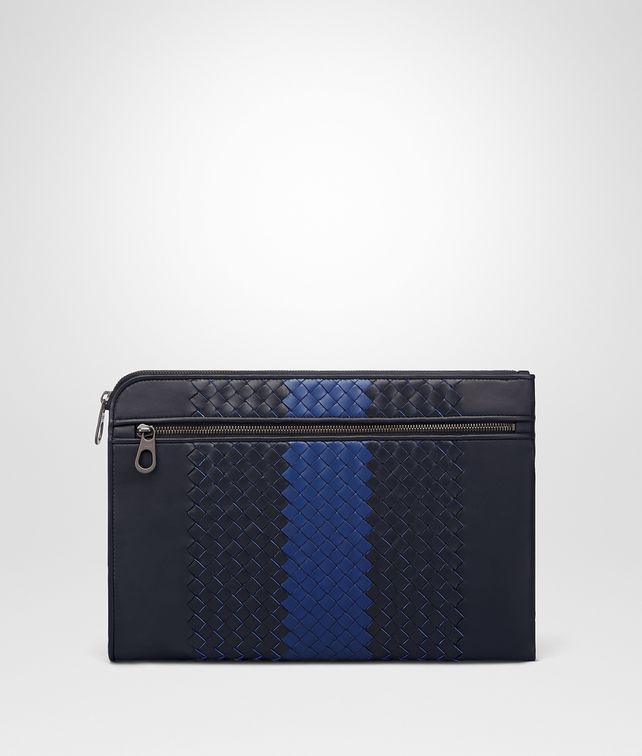 BOTTEGA VENETA TOURMALINE INTRECCIATO NAPPA DOCUMENT CASE Document case Man fp