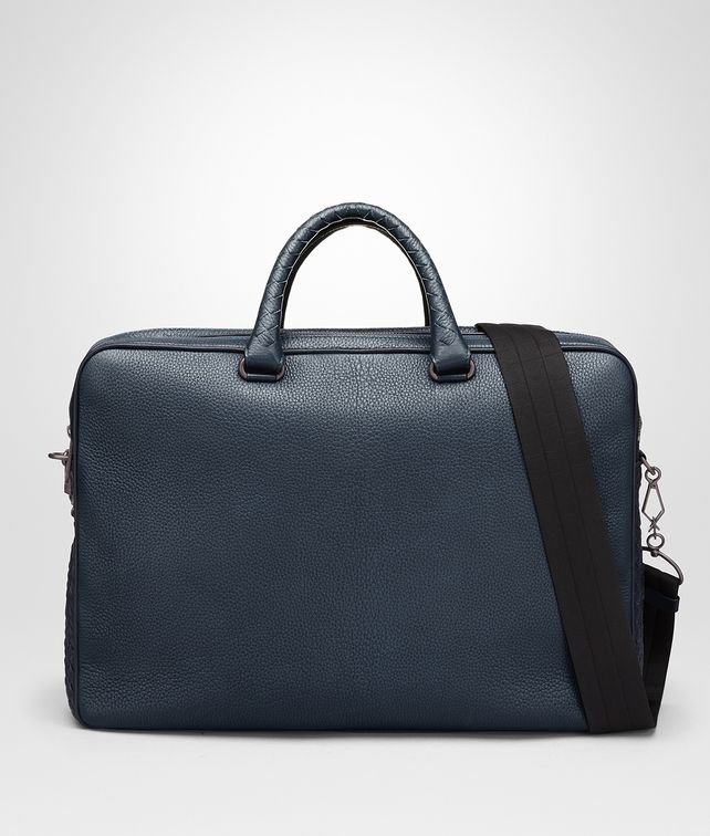 BOTTEGA VENETA DENIM CERVO BRIEFCASE Business bag [*** pickupInStoreShippingNotGuaranteed_info ***] fp
