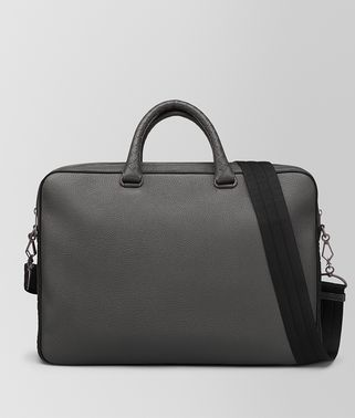 LIGHT GREY CERVO BRIEFCASE