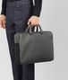BOTTEGA VENETA LIGHT GREY CERVO BRIEFCASE Business bag Man ap