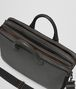 BOTTEGA VENETA LIGHT GREY CERVO BRIEFCASE Business bag Man dp