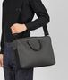 BOTTEGA VENETA LIGHT GREY CERVO BRIEFCASE Business bag Man lp
