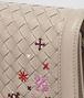 borsa mini montebello in intrecciato meadow flower mink  Immagine dettaglio posteriore