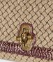 BOTTEGA VENETA NATURALE INTRECCIATO KNIT OLIMPIA KNOT BAG Shoulder Bag Woman ep