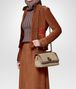 BOTTEGA VENETA NATURALE INTRECCIATO KNIT OLIMPIA KNOT BAG Shoulder Bag Woman lp
