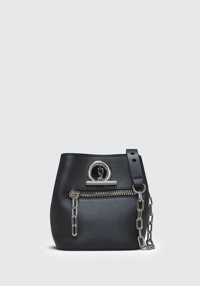 ALEXANDER WANG Shoulder bags Women BLACK RIOT CROSSBODY