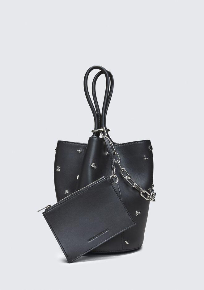 ALEXANDER WANG ROSE STUDDED ROXY BUCKET BAG Shoulder bag Adult 12_n_a