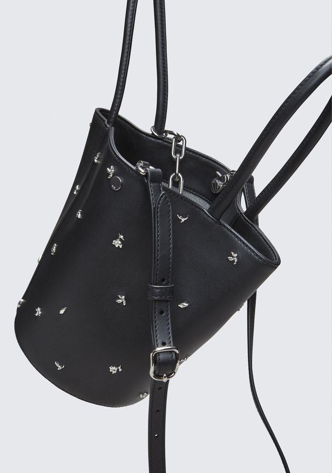 ALEXANDER WANG ROSE STUDDED ROXY BUCKET BAG Shoulder bag Adult 12_n_d