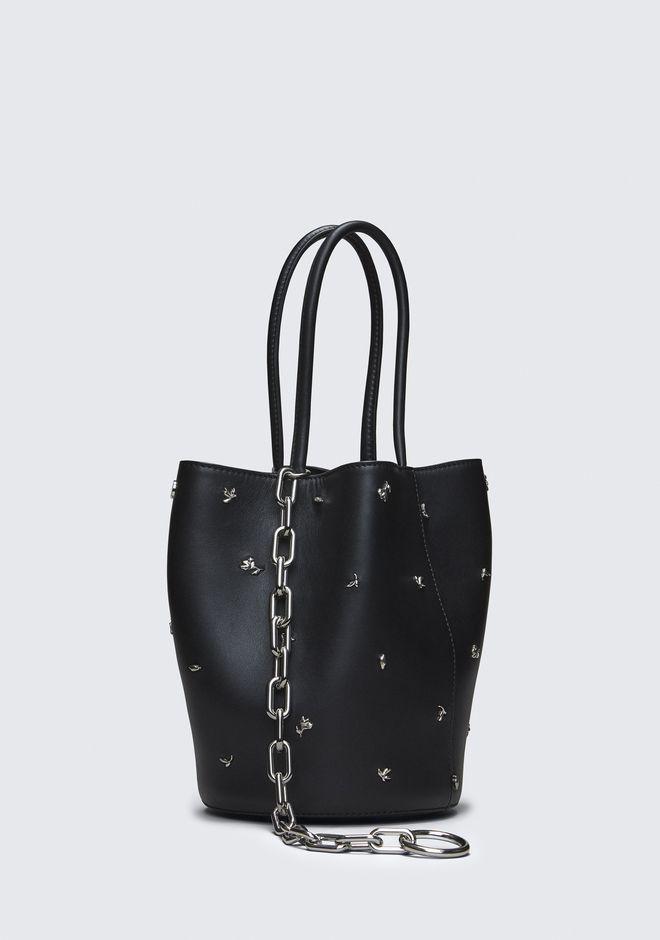ALEXANDER WANG ROSE STUDDED ROXY BUCKET BAG Shoulder bag Adult 12_n_e