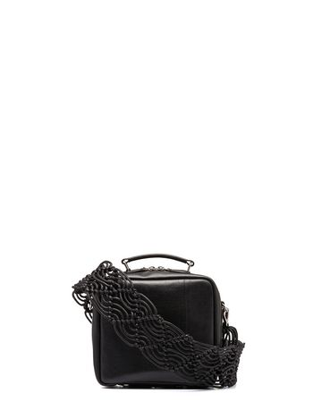 Marni METROPOLIS bag in leather black Woman