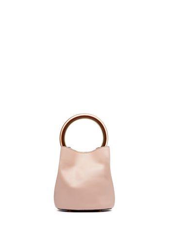 Marni Pink calfskin PANNIER bag Woman