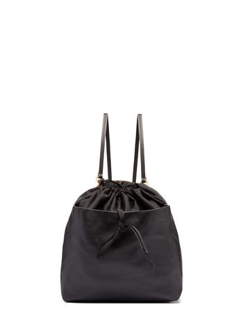 Marni Backpack in black nylon technical fabric Woman