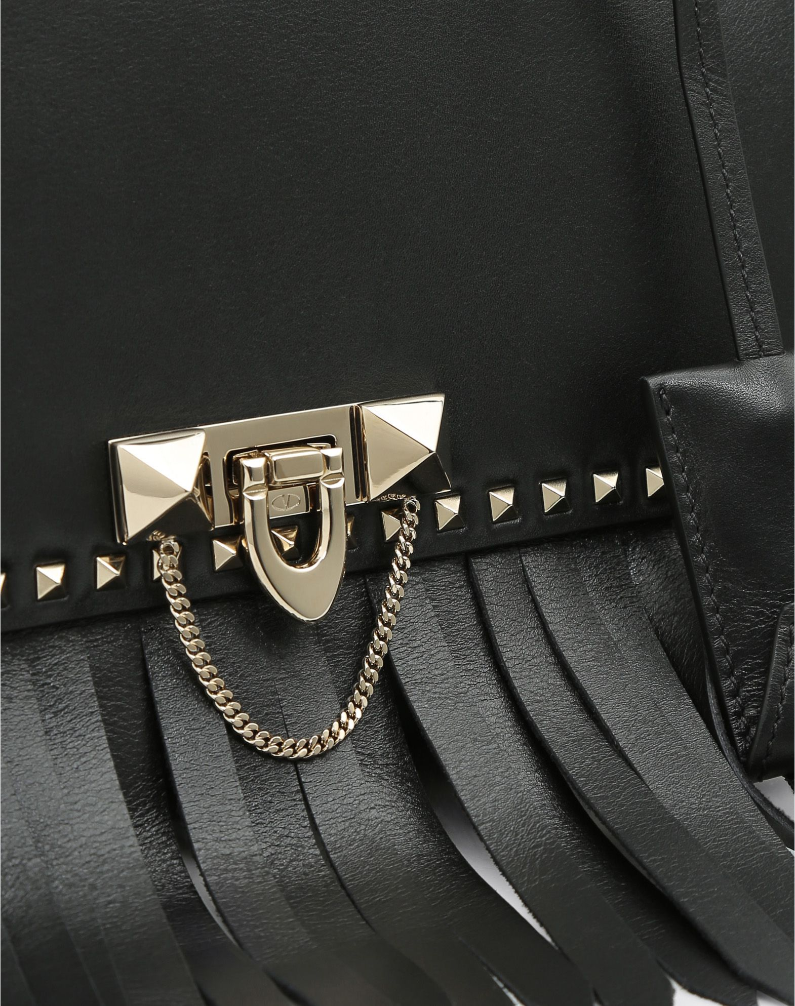 VALENTINO GARAVANI Demilune Small Double Handle Bag Double handle bag D b