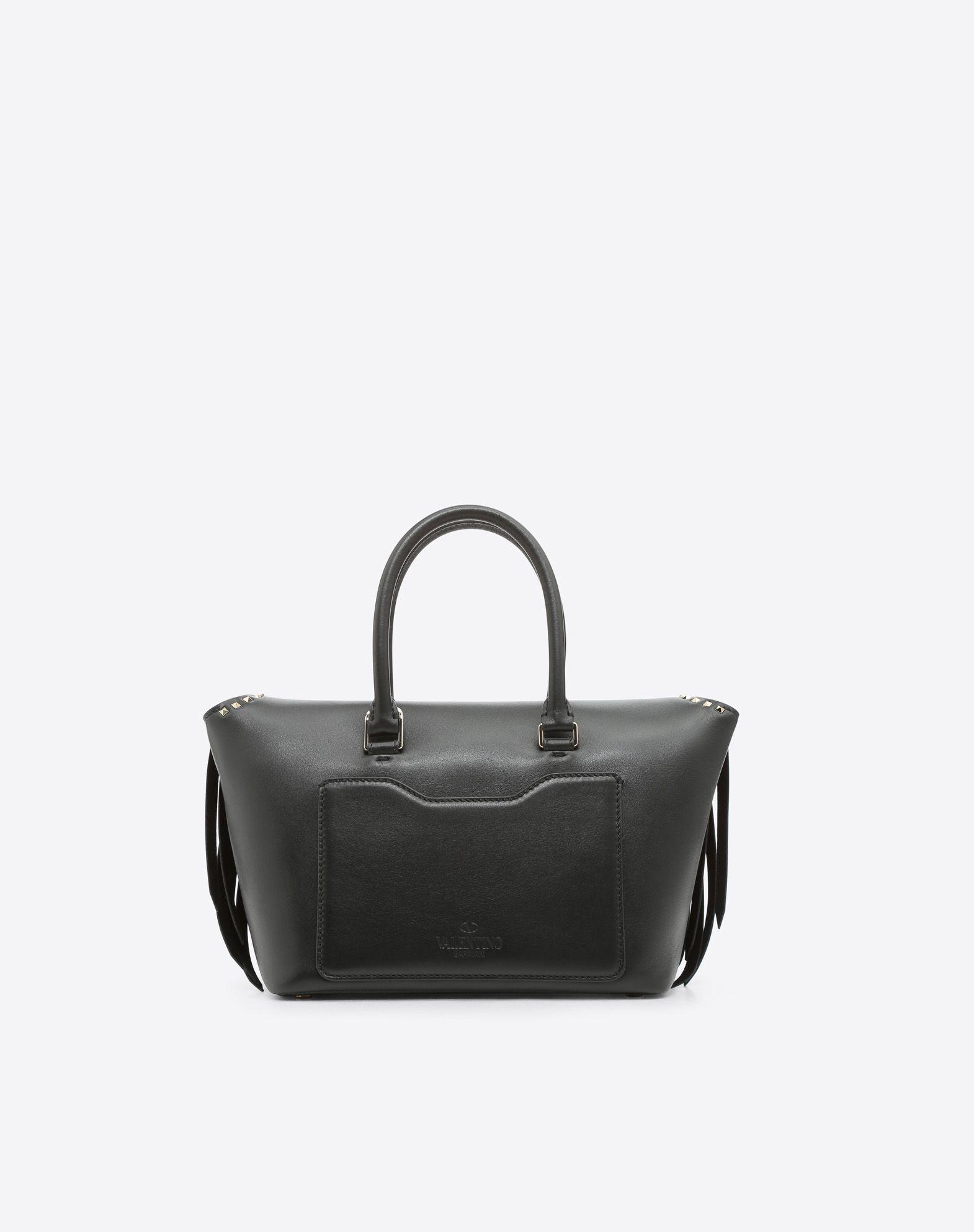 VALENTINO GARAVANI Demilune Small Double Handle Bag Double handle bag D d