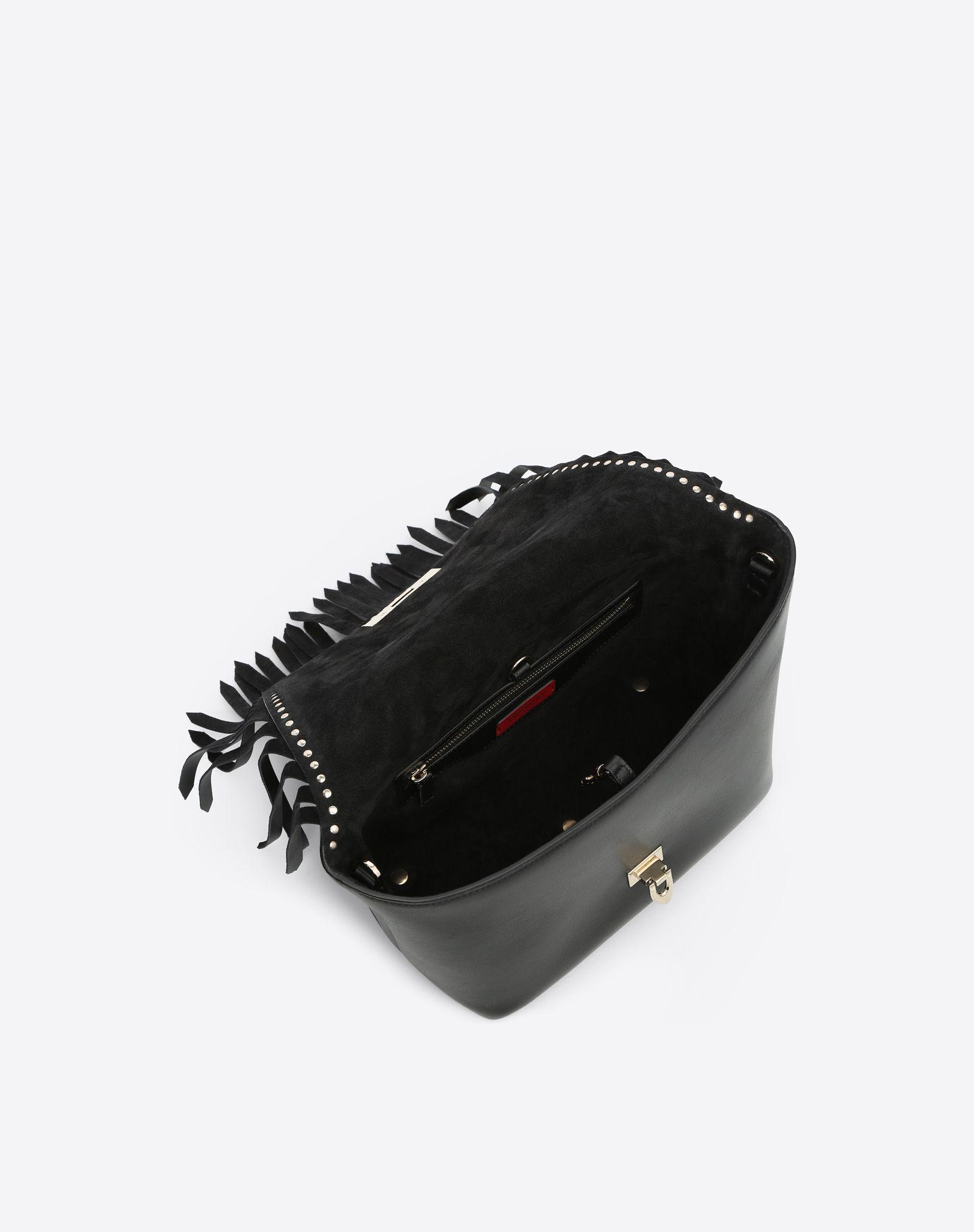 VALENTINO GARAVANI Demilune Small Double Handle Bag Double handle bag D e