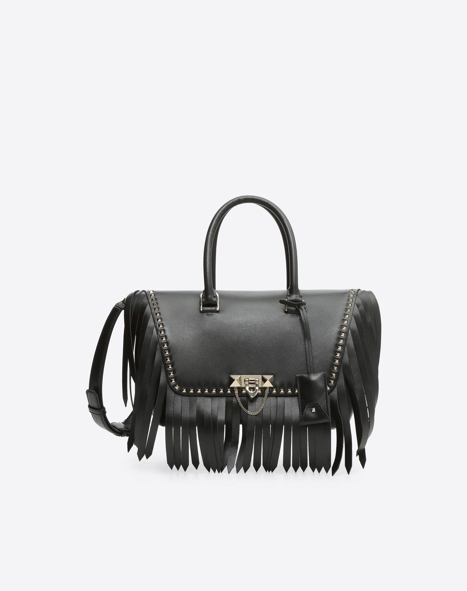 VALENTINO GARAVANI Demilune Small Double Handle Bag Double handle bag D f