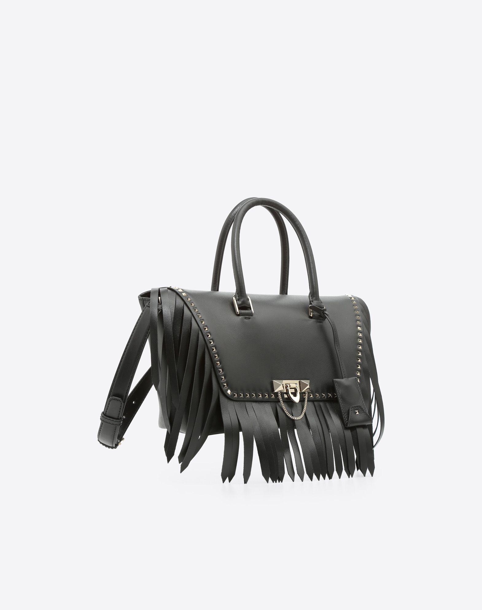 VALENTINO GARAVANI Demilune Small Double Handle Bag Double handle bag D r