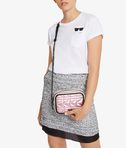 KARL LAGERFELD K/Kuilted Pink Camera Bag 8_r