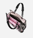KARL LAGERFELD K/Kuilted Pink Mini Tote 8_e