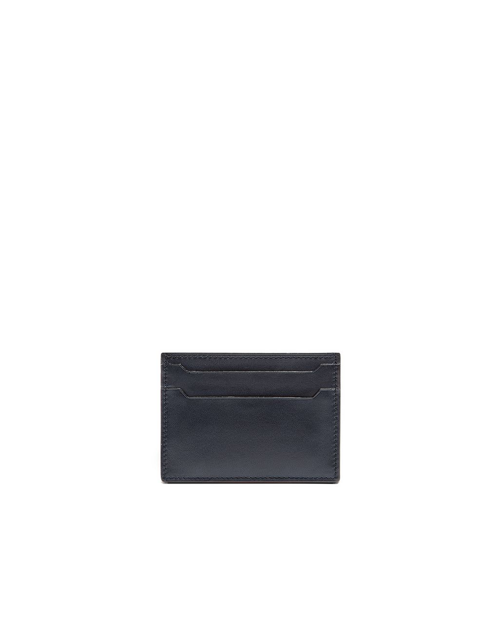 BRIONI Blue Credit Card Holder Leather Goods U f