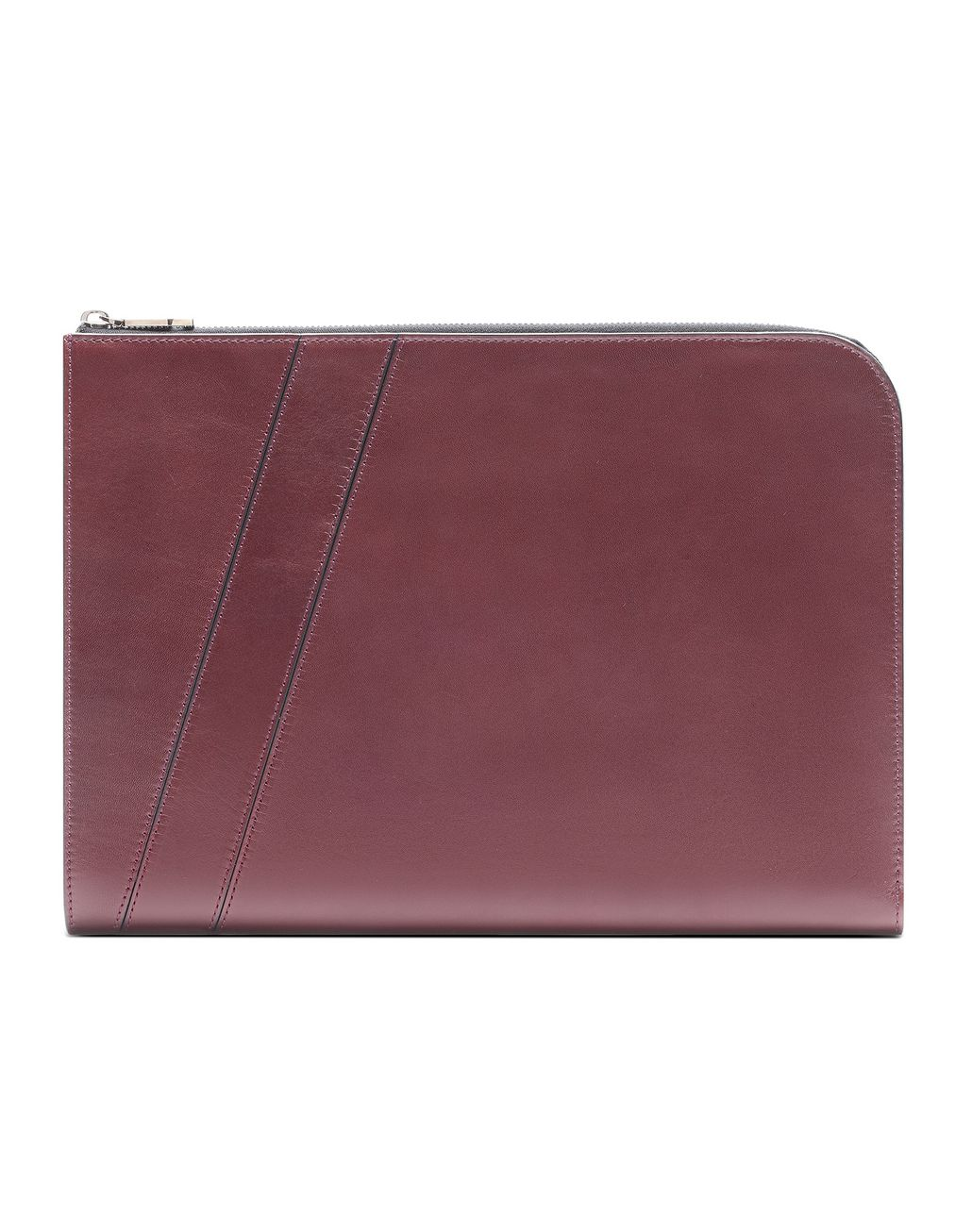 BRIONI Bordeaux Folio Document Holder Leather Goods U r