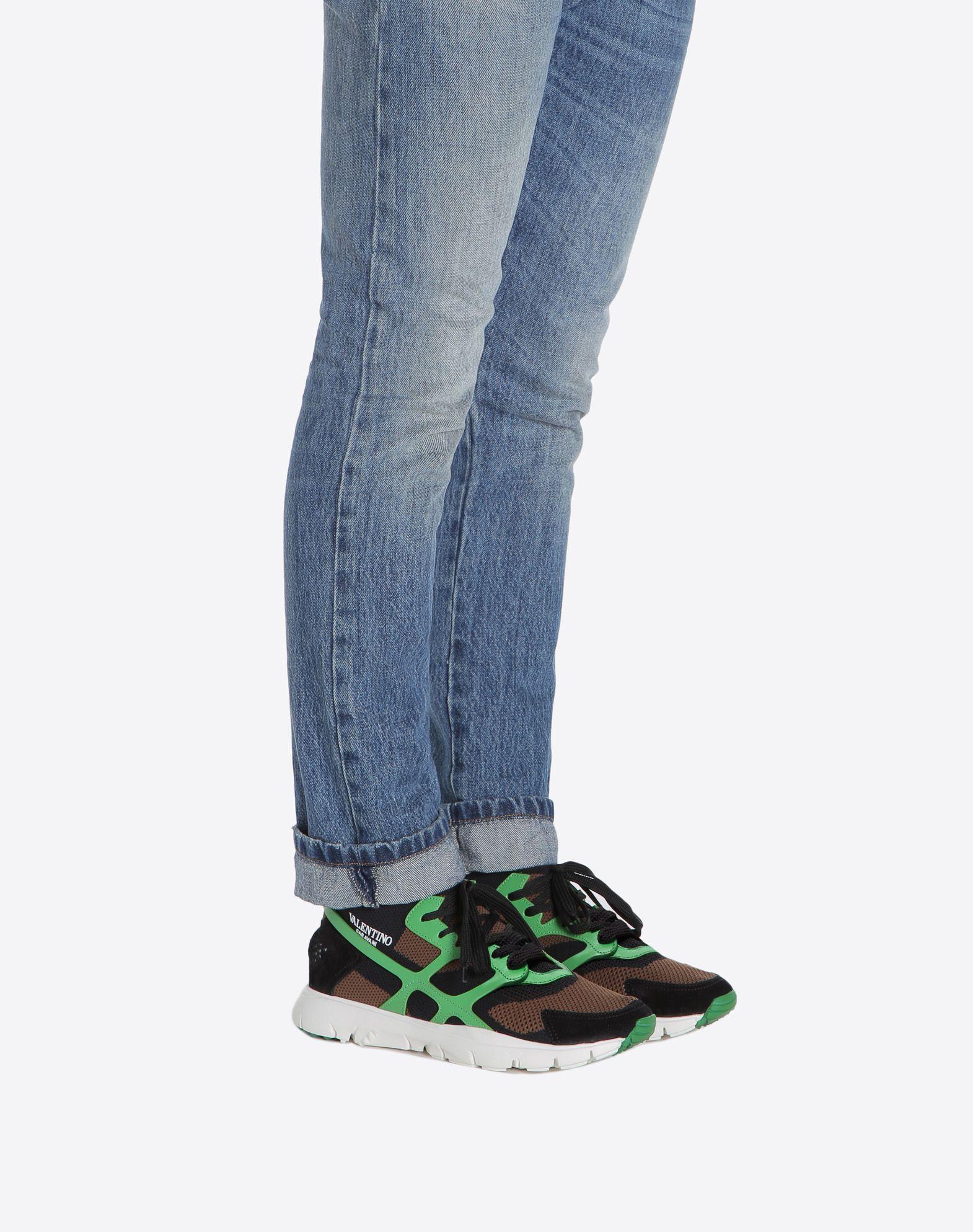 VALENTINO GARAVANI UOMO Sound High Sneaker HIGH-TOP SNEAKER U a