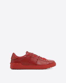 VALENTINO GARAVANI UOMO LOW-TOP SNEAKERS U Rockstud Untitled Rosso 运动鞋 f