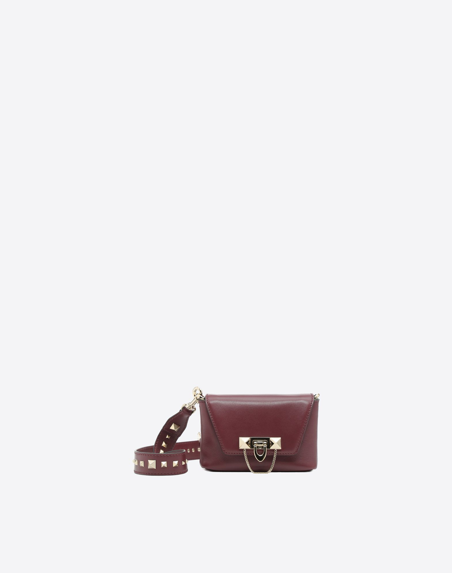 Garavani Demilune leather crossbody bag Valentino U09r1