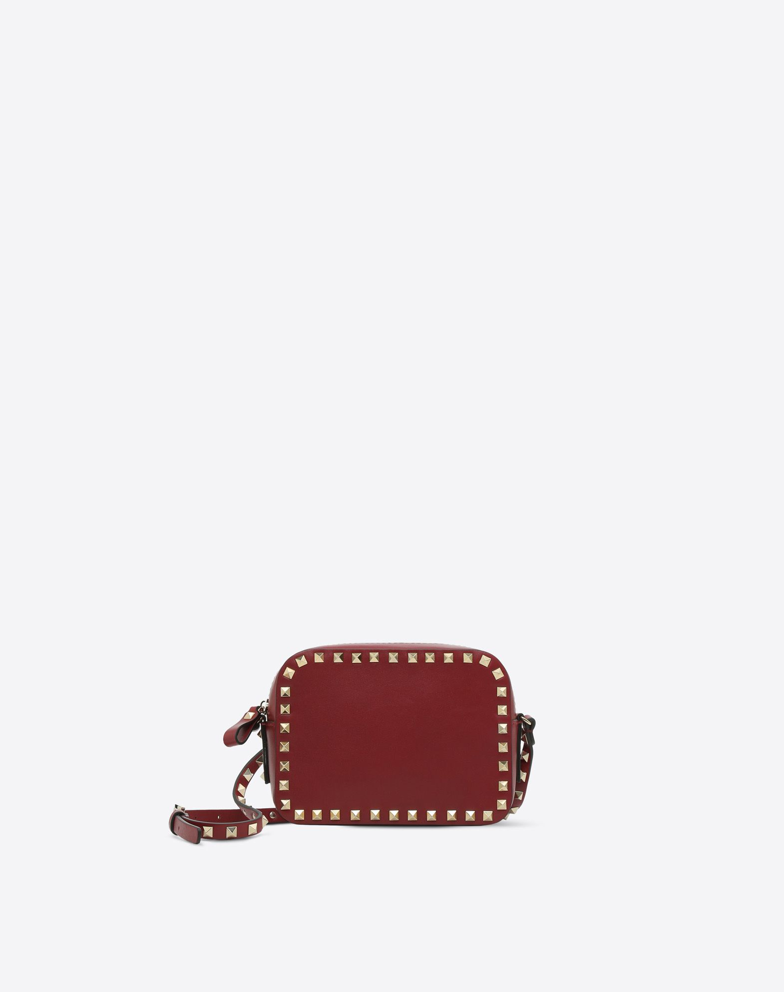 VALENTINO 铆钉 附品牌标志 单色 拉链 可调式背带  45385701ib