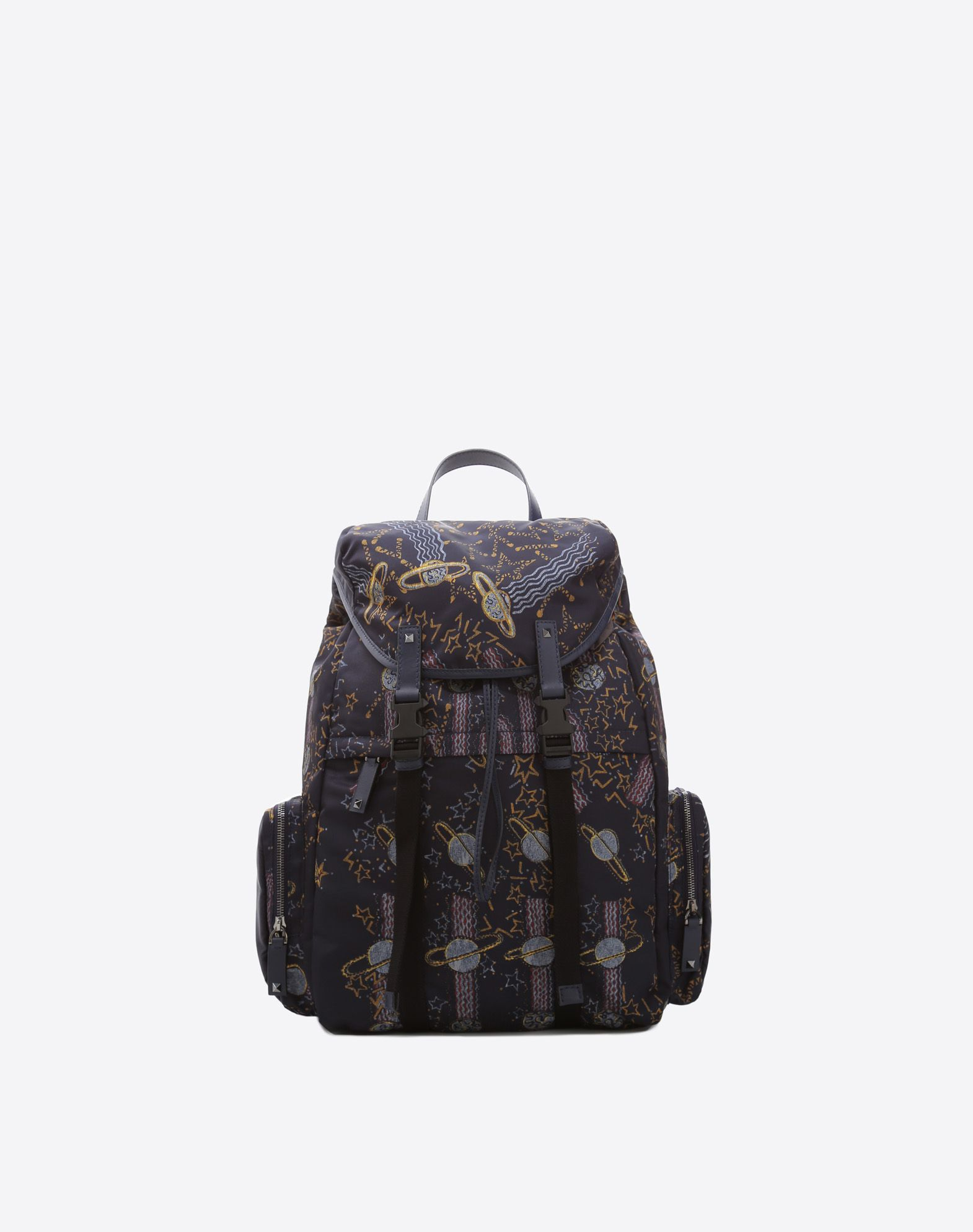 VALENTINO GARAVANI UOMO Zandra Lunar Punk Large Backpack Backpack U f