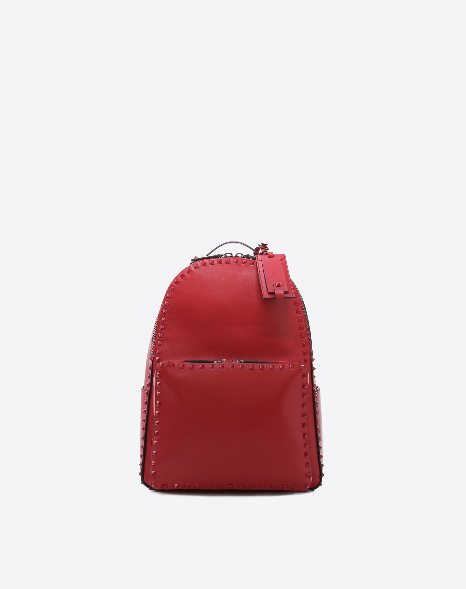 VALENTINO GARAVANI UOMO Rockstud Untitled Rosso Backpack Backpack U f