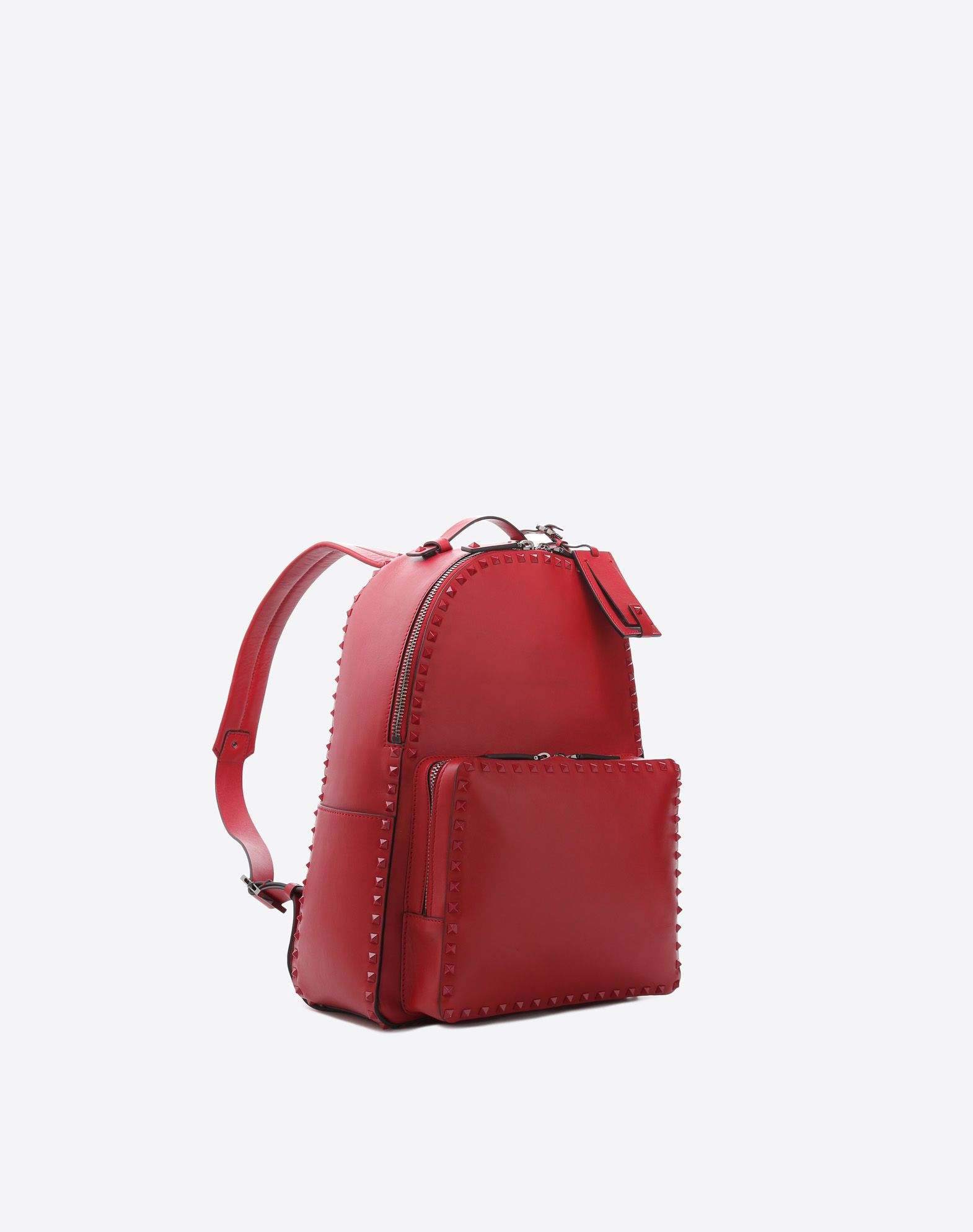 VALENTINO GARAVANI UOMO Rockstud Untitled Rosso Backpack Backpack U r