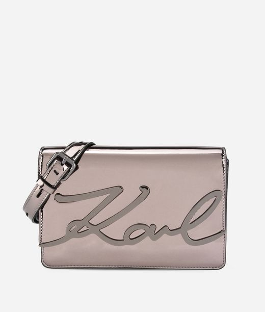 KARL LAGERFELD K/Signature Gloss Shoulderbag 12_f
