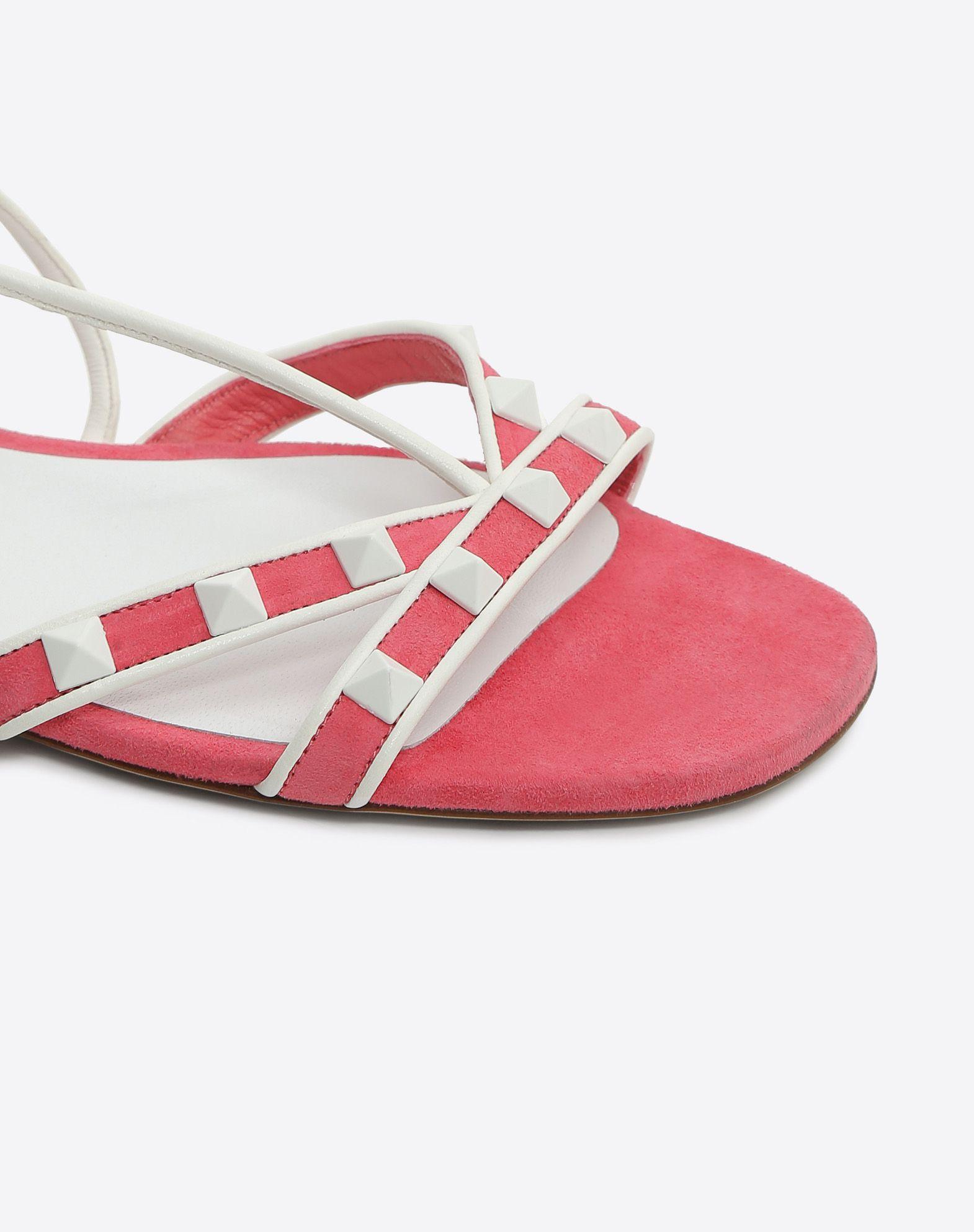Valentino Free Rockstud flat sandals XY5PqH7t6