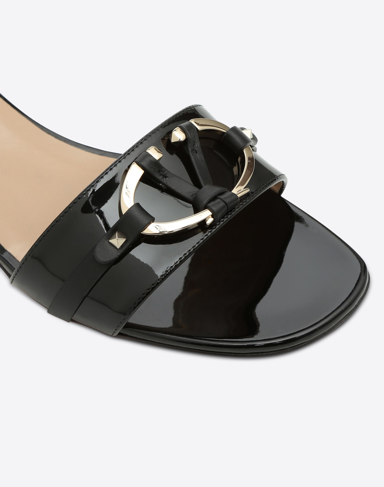 VALENTINO GARAVANI V-Rivet 拖鞋式凉鞋 拖鞋式凉鞋 D b