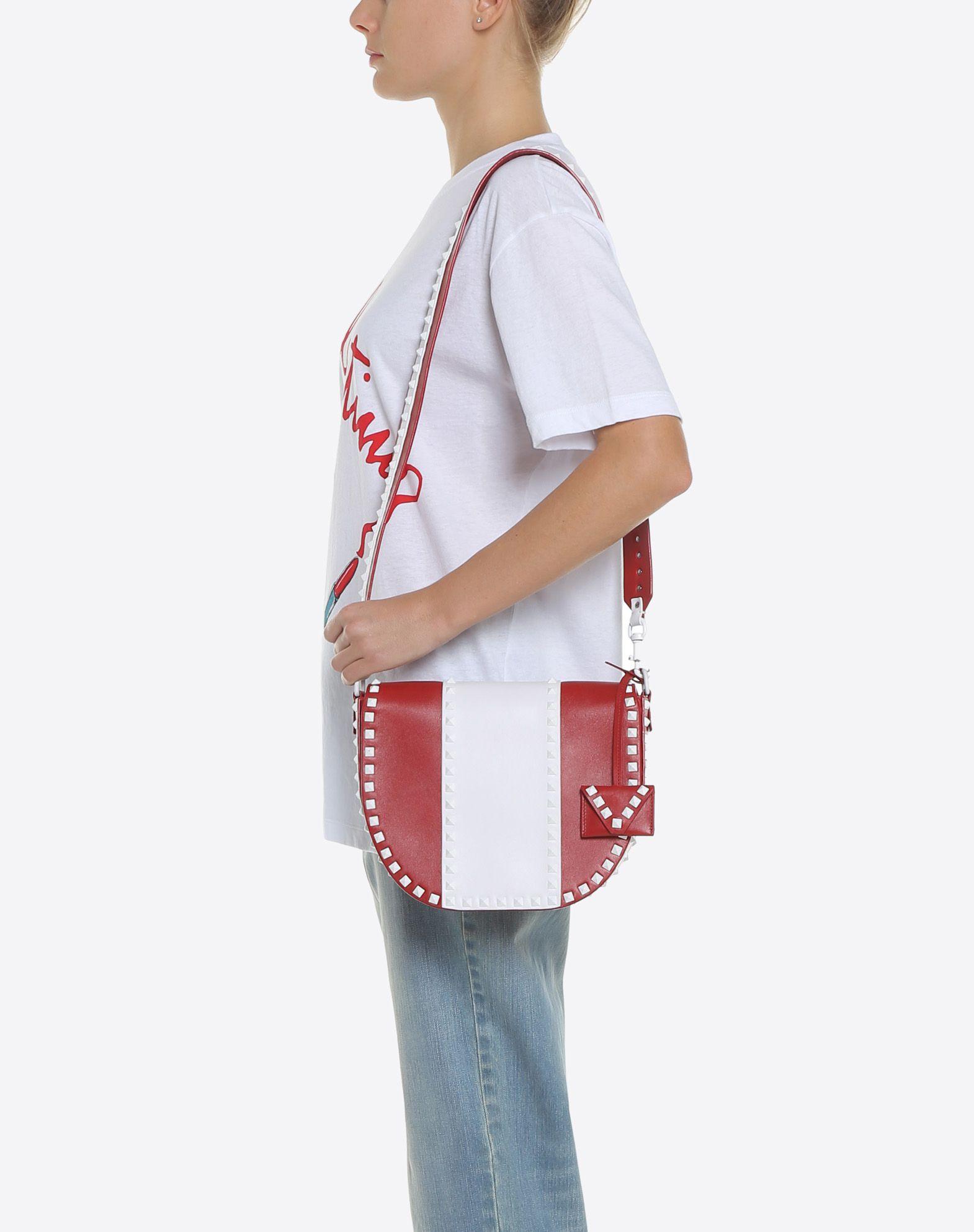 VALENTINO GARAVANI Free Rockstud Shoulder Bag Messenger bag D a