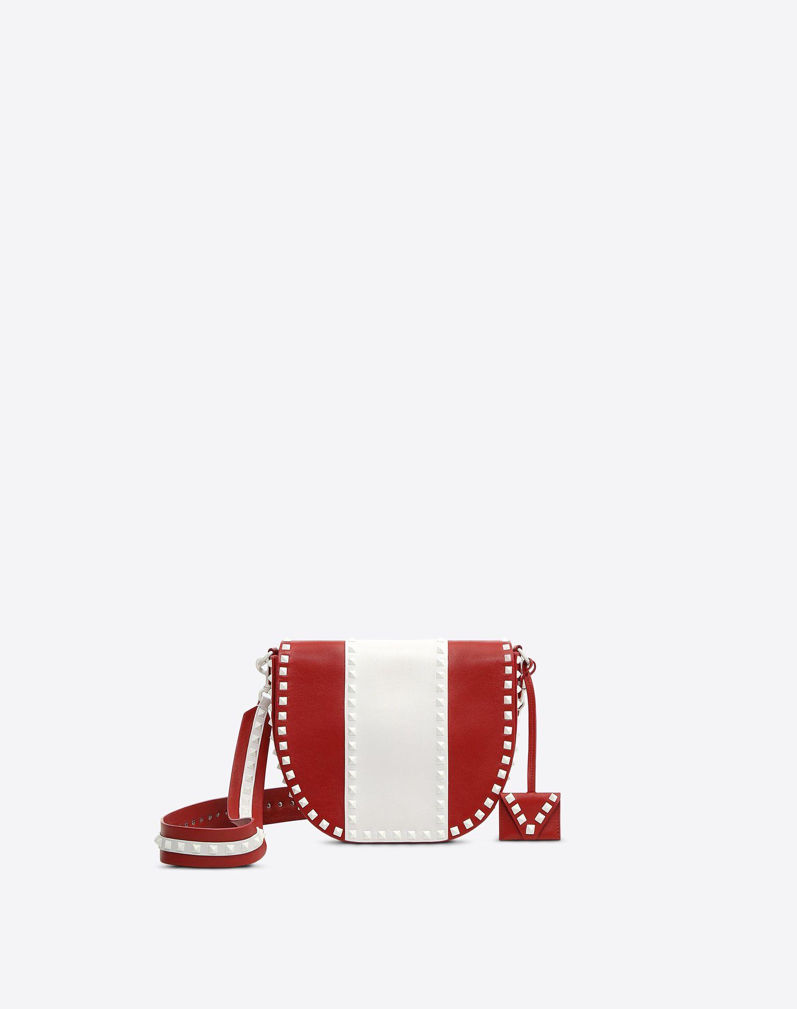 VALENTINO GARAVANI Free Rockstud Shoulder Bag Messenger bag D f