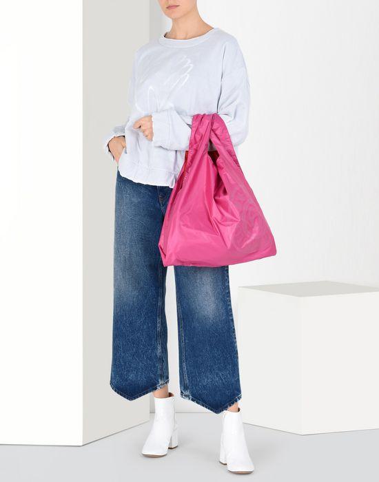 MM6 MAISON MARGIELA MM6 logo shopping bag Tote [*** pickupInStoreShipping_info ***] b