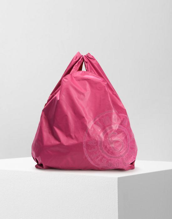 MM6 MAISON MARGIELA MM6 logo shopping bag Tote [*** pickupInStoreShipping_info ***] f