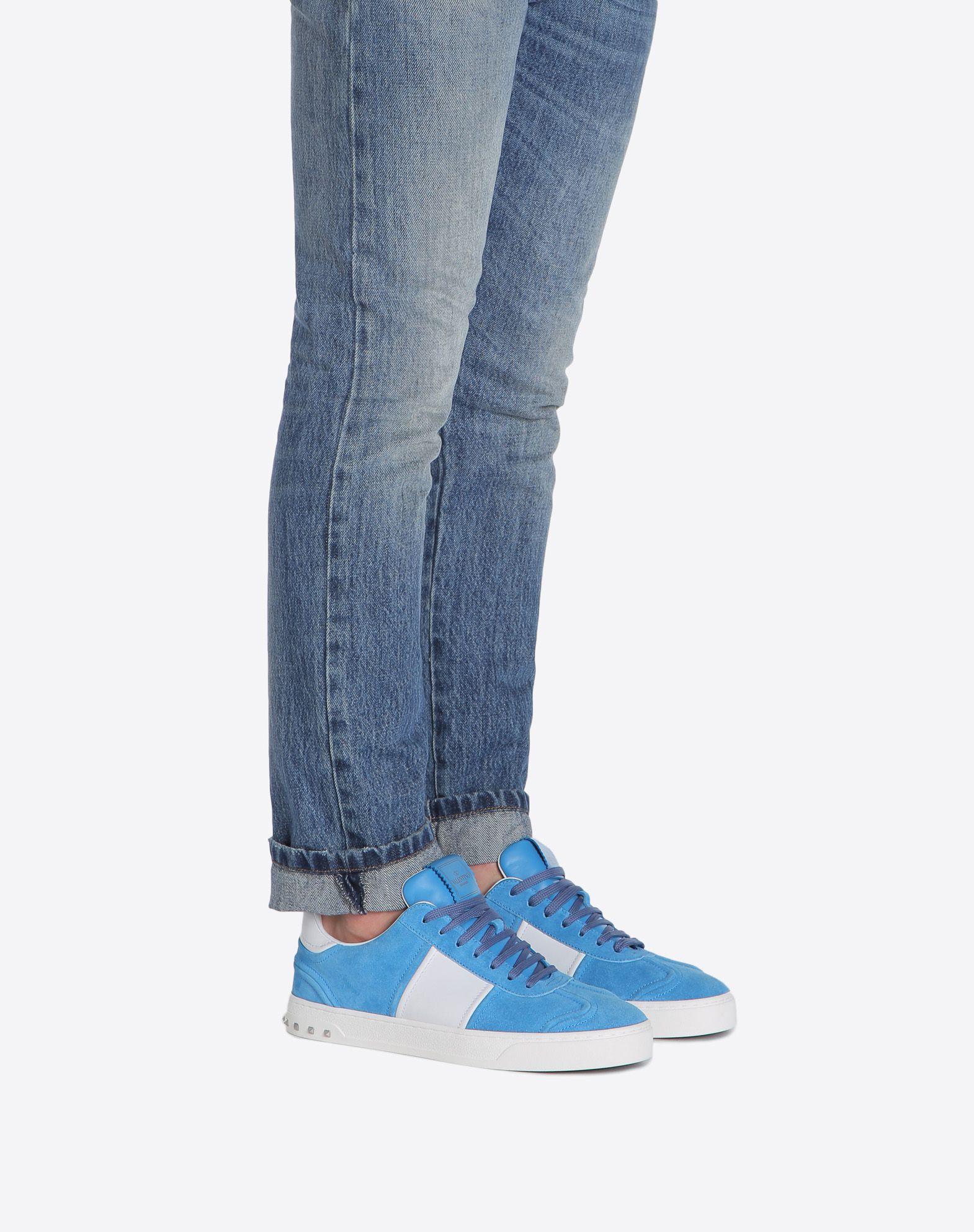 VALENTINO GARAVANI UOMO Flycrew 运动鞋 LOW-TOP SNEAKERS U a