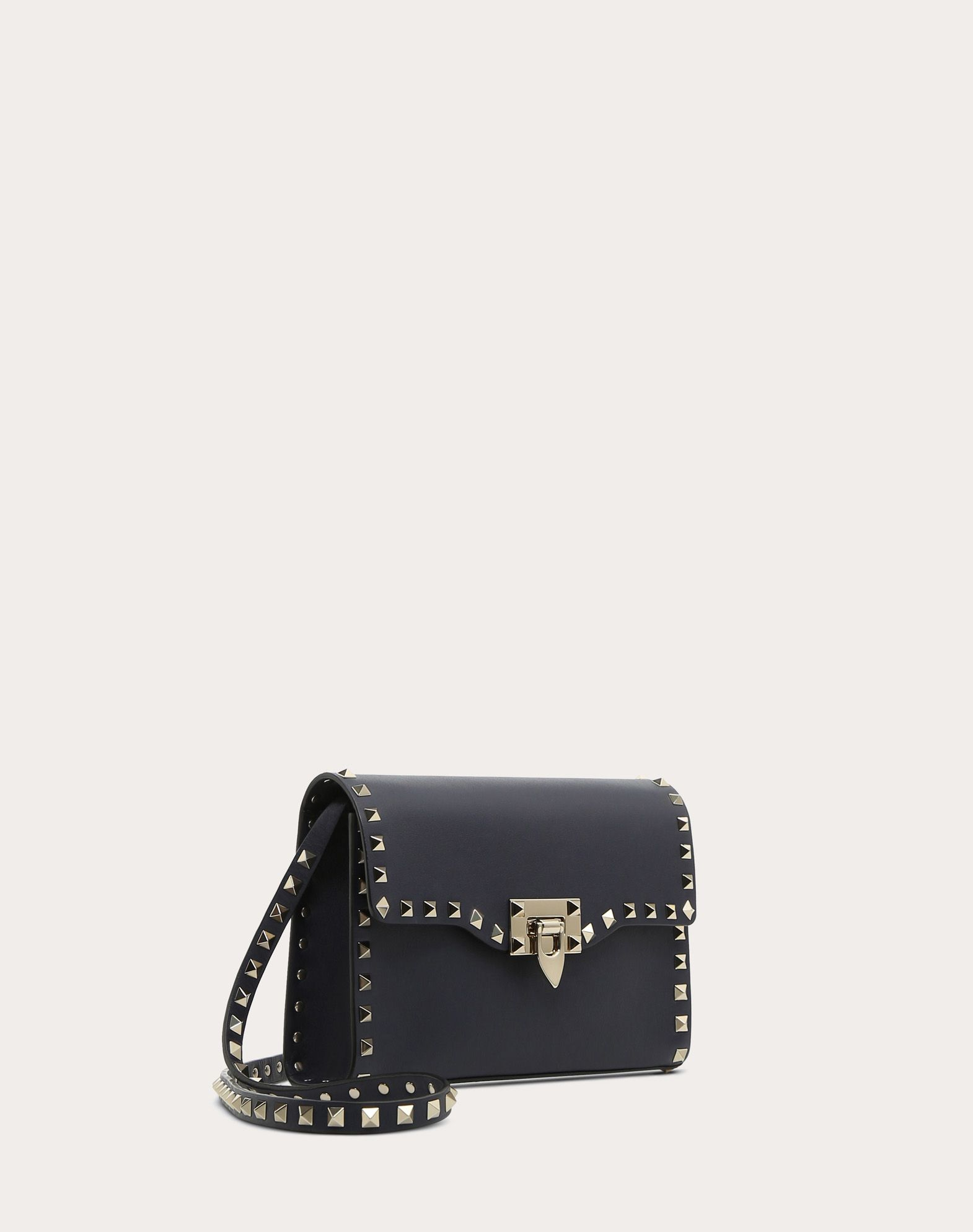 VALENTINO GARAVANI Small Rockstud Cross-body Bag CROSS BODY BAG D r