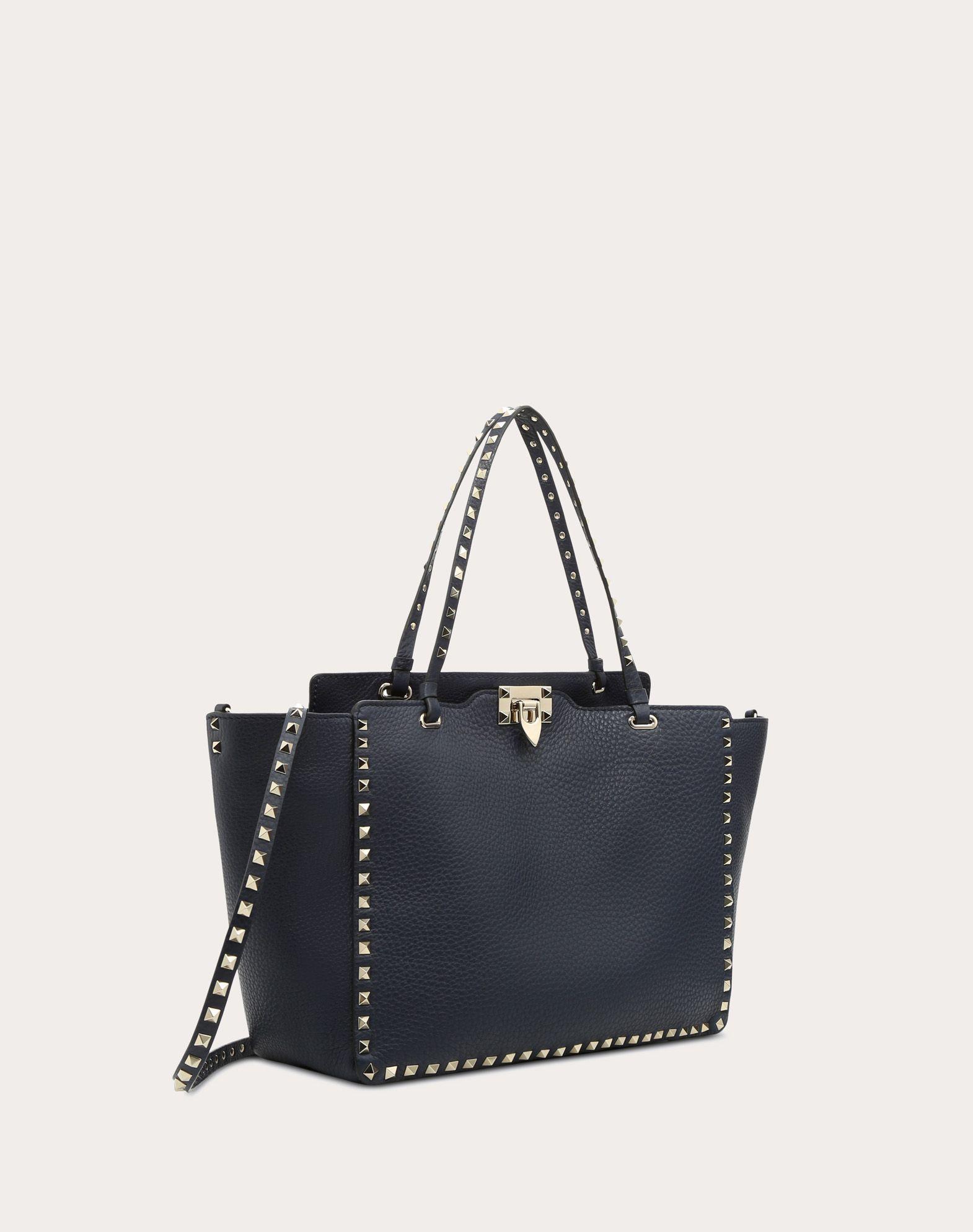Le Magasin Rabais Exclusif Valentino Valentino Femme Sac À Bandoulière-cuir  Texturé Imprimé Clouté Noir 8b71aeddb5d
